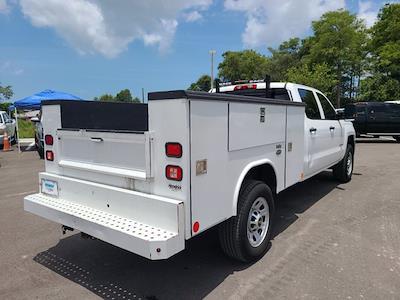 2015 Chevrolet Silverado 3500 Crew Cab 4x4, Service Body #CM28162A - photo 2
