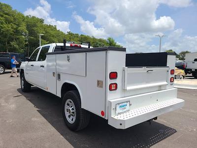 2015 Chevrolet Silverado 3500 Crew Cab 4x4, Service Body #CM28162A - photo 5