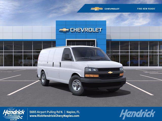2021 Chevrolet Express 2500 4x2, Knapheide Upfitted Cargo Van #CM28300 - photo 1