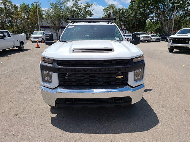 2021 Chevrolet Silverado 3500 Crew Cab AWD, CM Truck Beds Contractor Body #CM29530 - photo 4