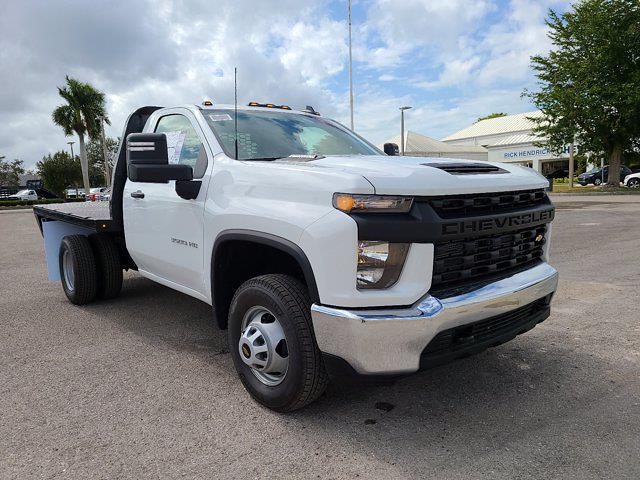 2021 Chevrolet Silverado 3500 Regular Cab AWD, Knapheide PGNB Gooseneck Platform Body #CM40056 - photo 3