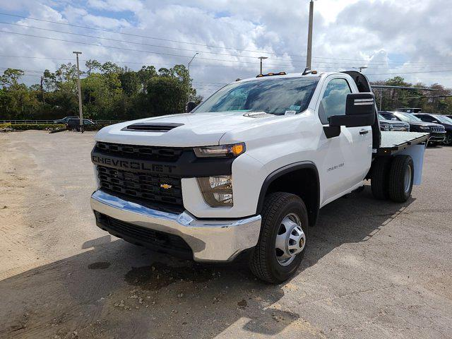 2021 Chevrolet Silverado 3500 Regular Cab AWD, Knapheide PGNB Gooseneck Platform Body #CM40056 - photo 4
