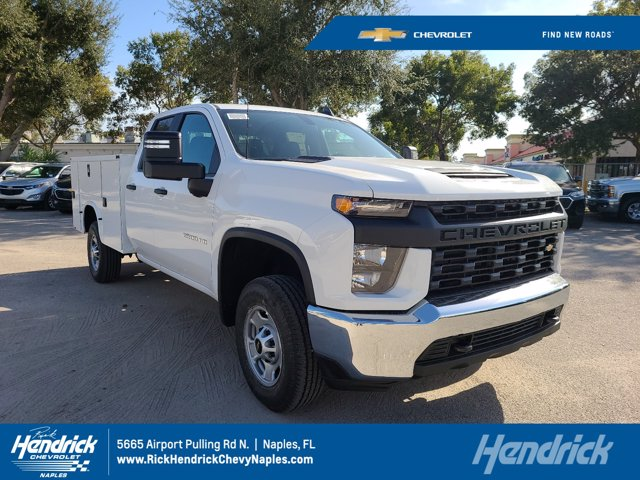 2021 Chevrolet Silverado 2500 Double Cab 4x2, Knapheide Steel Service Body #CM47322 - photo 1