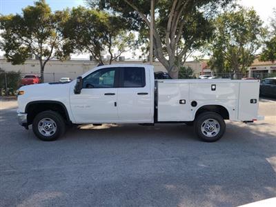 2021 Chevrolet Silverado 2500 Double Cab 4x2, Knapheide Steel Service Body #CM47473 - photo 9