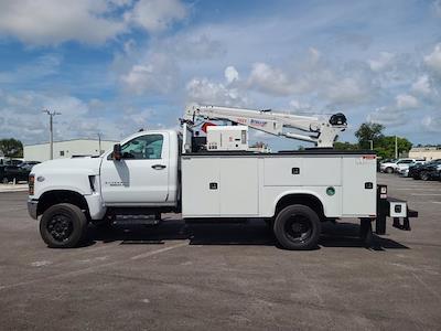 2021 Chevrolet Silverado 5500 Regular Cab DRW 4x4, Knapheide Crane Body Mechanics Body #CM60412 - photo 9