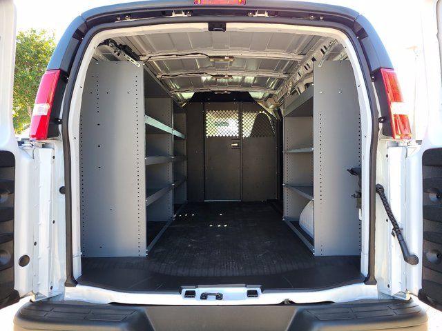 2021 Chevrolet Express 2500 4x2, Masterack Upfitted Cargo Van #CM62929 - photo 1