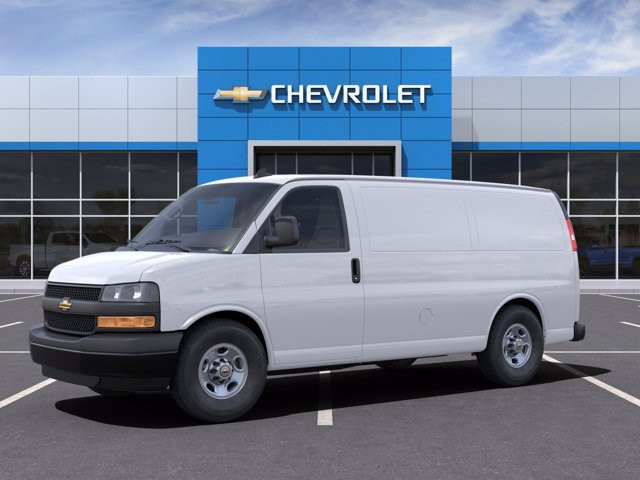 2021 Chevrolet Express 2500 4x2, Adrian Steel Upfitted Cargo Van #CM66505 - photo 3