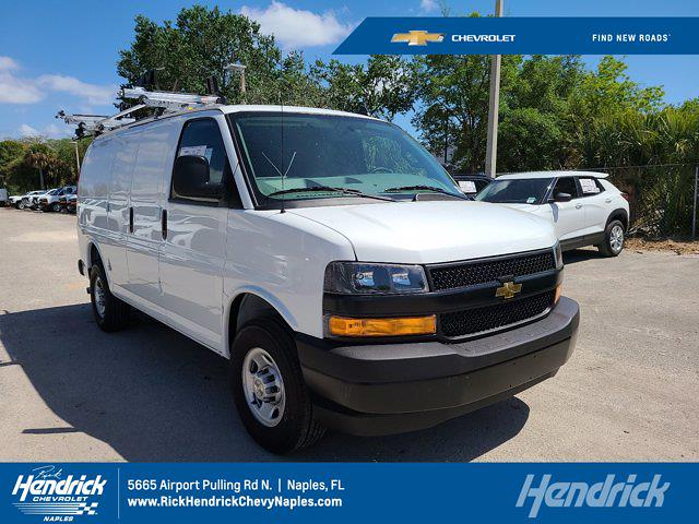 2021 Chevrolet Express 2500 4x2, Adrian Steel Upfitted Cargo Van #CM66568 - photo 1