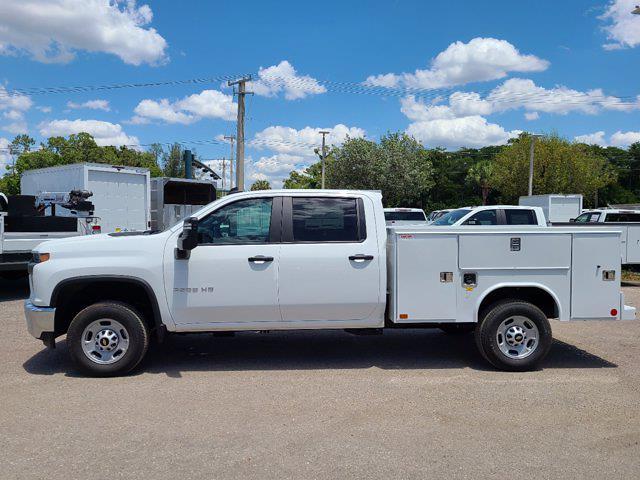 2021 Chevrolet Silverado 2500 Double Cab 4x2, Reading SL Service Body #CM71820 - photo 8