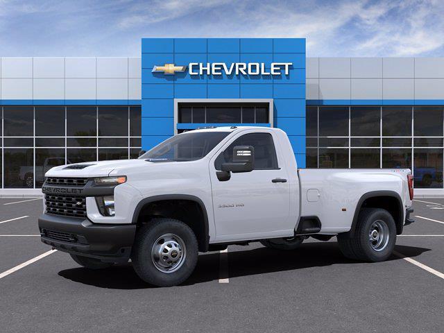 2021 Chevrolet Silverado 3500 Regular Cab 4x4, Pickup #CM88219 - photo 3