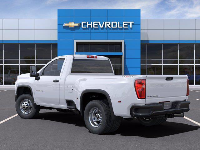 2021 Chevrolet Silverado 3500 Regular Cab 4x4, Pickup #CM88219 - photo 4