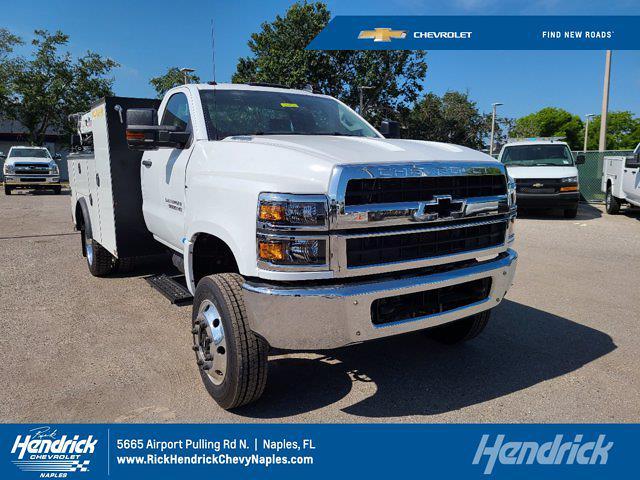2020 Chevrolet Silverado 5500 Regular Cab DRW 4x4, Cab Chassis #DCL92724 - photo 1