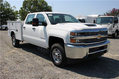 2018 Silverado 2500 Crew Cab 4x2,  Service Body #F107412 - photo 1