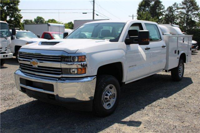 2018 Silverado 2500 Crew Cab 4x2,  Service Body #F130820 - photo 3