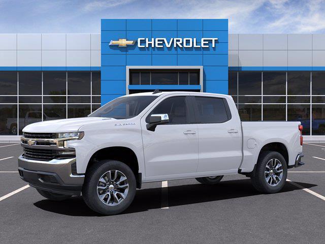 2021 Chevrolet Silverado 1500 Crew Cab 4x2, Pickup #M07571 - photo 3