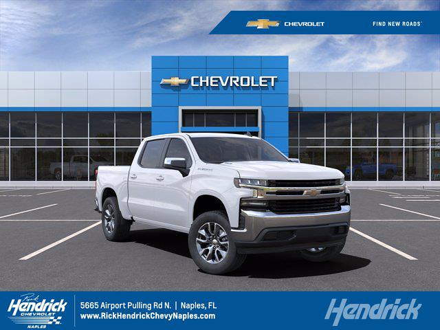 2021 Chevrolet Silverado 1500 Crew Cab 4x2, Pickup #M07894 - photo 1