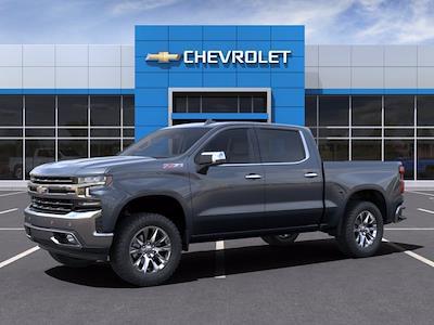 2021 Chevrolet Silverado 1500 Crew Cab 4x4, Pickup #M08909 - photo 3