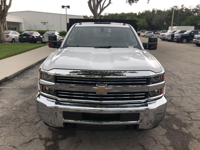 2017 Silverado 3500 Crew Cab DRW,  Platform Body #M117462 - photo 4