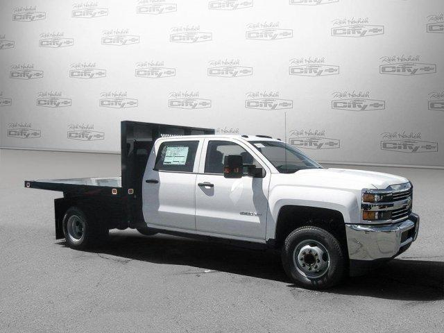 2017 Silverado 3500 Crew Cab DRW,  Platform Body #M117462 - photo 8