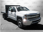 2017 Silverado 3500 Crew Cab DRW,  Platform Body #M117462 - photo 1
