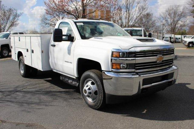 2018 Silverado 3500 Regular Cab DRW 4x4,  Service Body #M118060 - photo 3