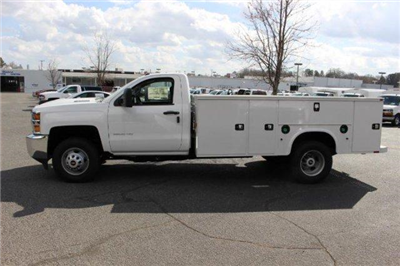 2018 Silverado 3500 Regular Cab DRW 4x4,  Service Body #M118060 - photo 5