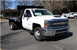 2018 Silverado 3500 Regular Cab DRW 4x4,  Platform Body #M121519 - photo 1