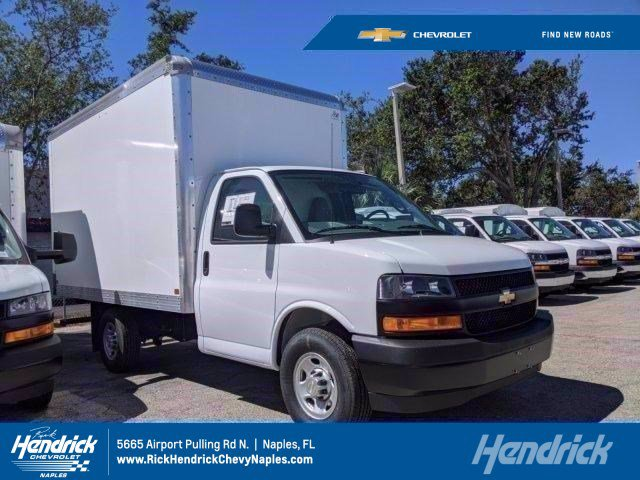 2020 Chevrolet Express 3500 4x2, J&B Truck Body Cutaway Van #M143710 - photo 1
