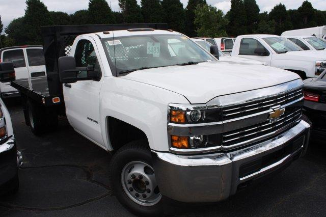 2017 Silverado 3500 Regular Cab DRW,  Platform Body #M147545 - photo 8