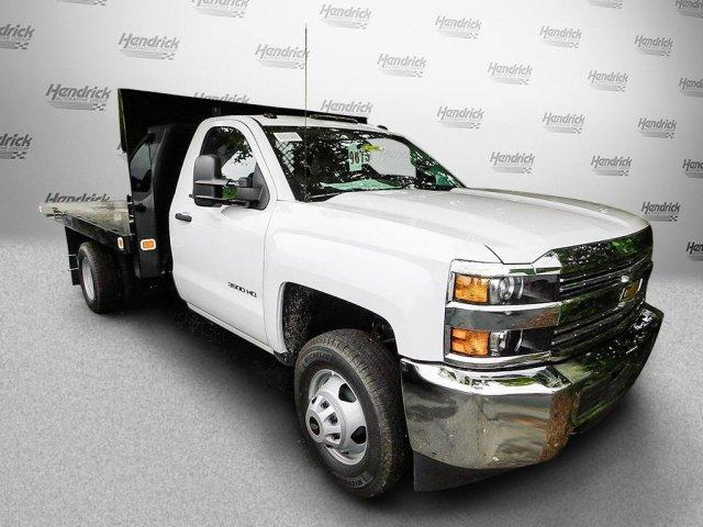 2017 Silverado 3500 Regular Cab DRW,  Platform Body #M148618 - photo 3