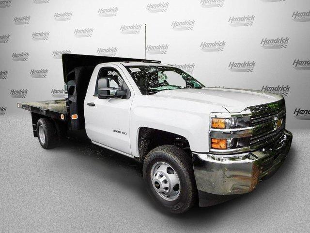 2017 Silverado 3500 Regular Cab DRW,  Platform Body #M148618 - photo 4