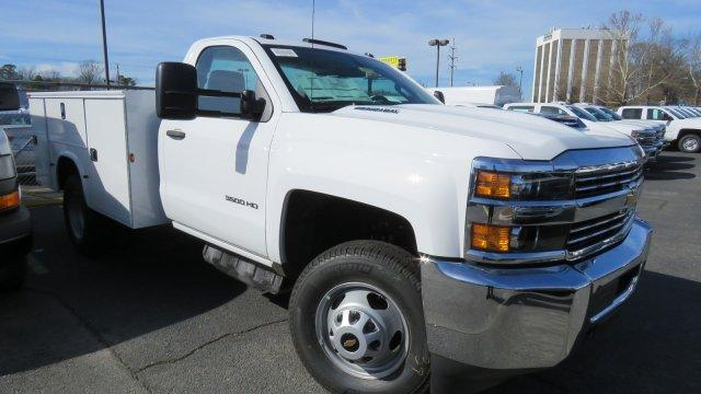 2018 Silverado 3500 Regular Cab DRW 4x2,  Knapheide Service Body #M180571 - photo 9