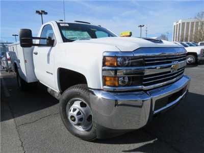 2018 Silverado 3500 Regular Cab DRW 4x2,  Knapheide Service Body #M180571 - photo 1