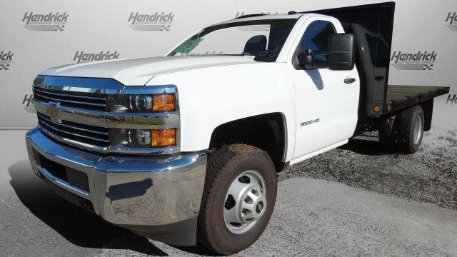 2017 Silverado 3500 Regular Cab DRW,  Platform Body #M185804 - photo 8