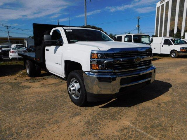 2017 Silverado 3500 Regular Cab DRW,  Freedom Platform Body #M186949 - photo 3