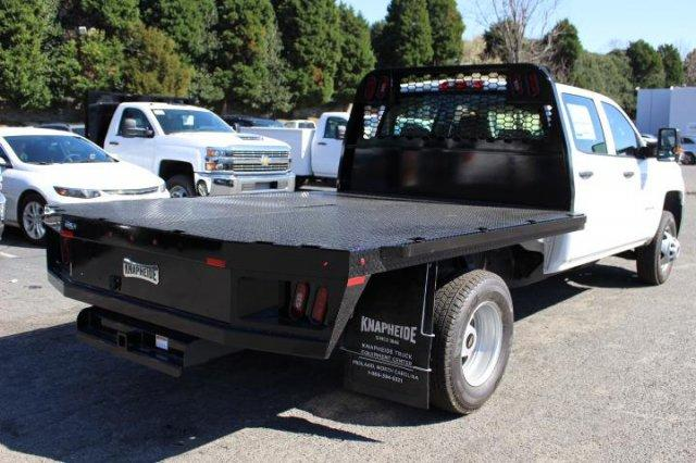 2018 Silverado 3500 Crew Cab DRW 4x4,  Platform Body #M208405 - photo 2