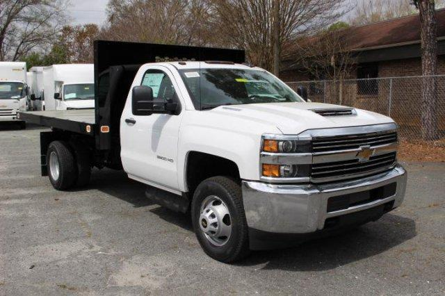 2018 Silverado 3500 Regular Cab DRW 4x2,  Knapheide Value-Master X Platform Body #M213038 - photo 1