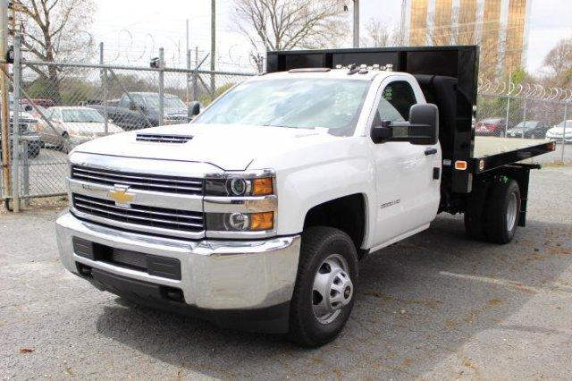 2018 Silverado 3500 Regular Cab DRW 4x2,  Knapheide Value-Master X Platform Body #M213038 - photo 3