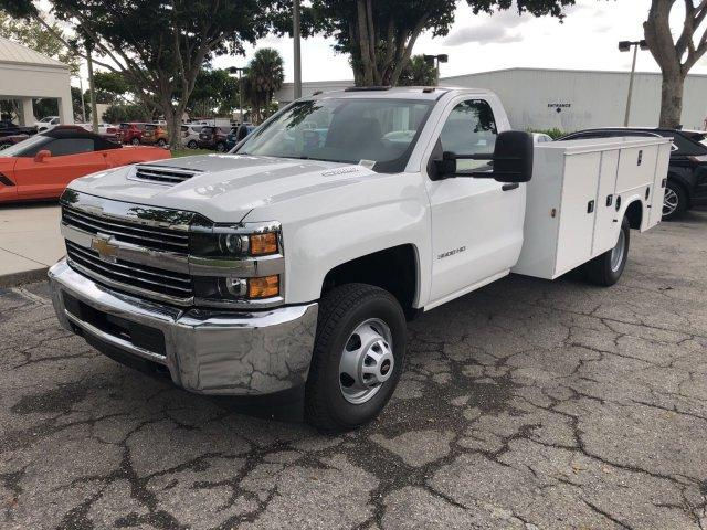 2018 Silverado 3500 Regular Cab DRW 4x2,  Knapheide Service Body #M215154 - photo 3