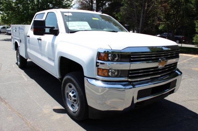 2018 Silverado 2500 Crew Cab 4x4,  Service Body #M229808 - photo 3