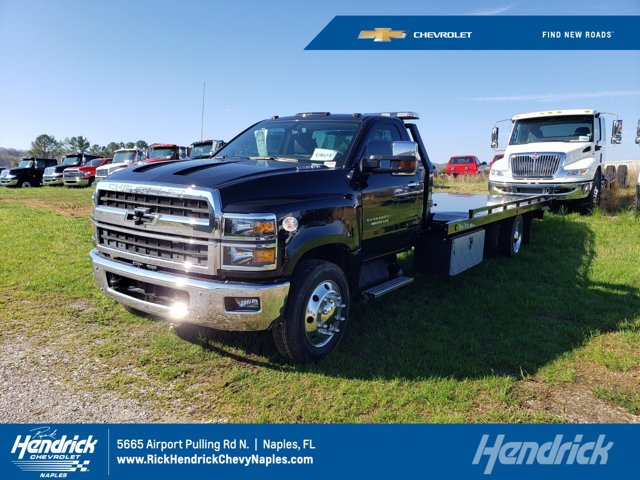 2019 Chevrolet Silverado 5500 Regular Cab DRW 4x2, Dual-Tech Rollback Body #M325809 - photo 1
