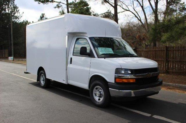 2017 Express 3500 4x2,  Supreme Spartan Cargo Cutaway Van #M337592 - photo 3