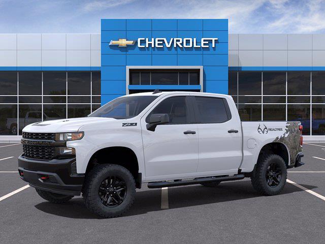 2021 Chevrolet Silverado 1500 Crew Cab 4x4, Pickup #M40683 - photo 3