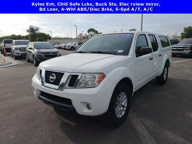 2016 Nissan Frontier Crew Cab 4x2, Pickup #M54147A - photo 5