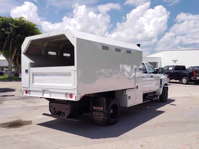 2020 Chevrolet Silverado 6500 Crew Cab DRW RWD, Knapheide Chipper Body #M584063 - photo 1