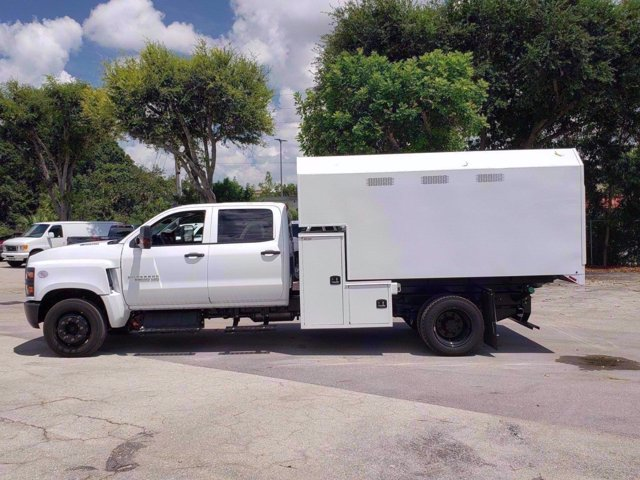 2020 Chevrolet Silverado 6500 Crew Cab DRW RWD, Knapheide Standard Forestry Chipper Body #M584063 - photo 7