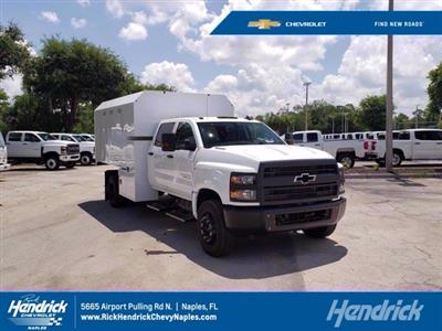 2020 Chevrolet Silverado 6500 Crew Cab DRW RWD, Knapheide Standard Forestry Chipper Body #M584063 - photo 1