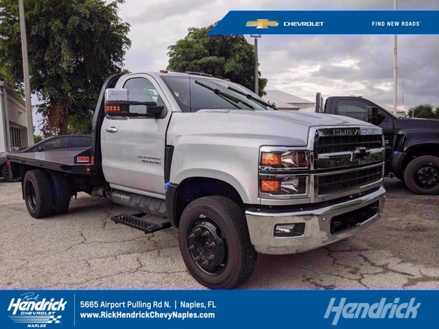 2019 Chevrolet Silverado 4500 Regular Cab DRW RWD, Knapheide Platform Body #M685782 - photo 1
