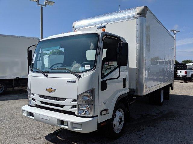 2019 LCF 4500 Regular Cab 4x2,  Knapheide KVA Dry Freight #M800558 - photo 3