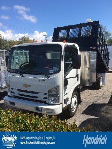 2018 LCF 4500 Regular Cab 4x2,  Knapheide Value-Master X Stake Bed #M808266 - photo 1